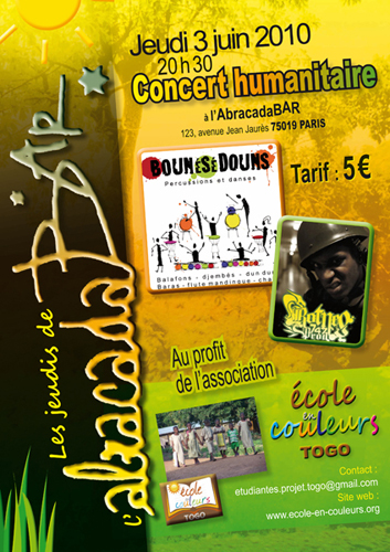 Concert humanitaire